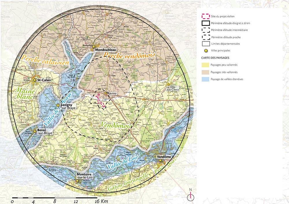 cartographie des paysages